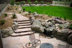 Formal-Flagstone-Walkway-With-Stair-Case-Flagstone-Patio
